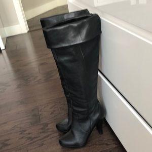 Michael by Michael Kors black tall boots- 5.5
